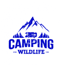 Camping Wildlife Logo Vector images