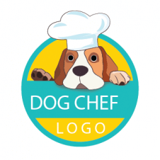 Dog Chef Logo Vector images