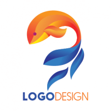 Dolphin 3d Drawing Logo Vector images