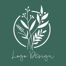 Eco Leave Hand Sketch Logo Vector images