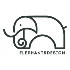 Elephant Sketch Logo Vector images