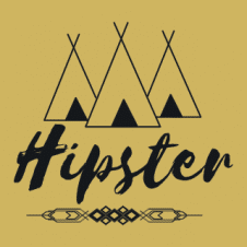 Hipster Logo Vector images