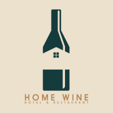 Home Wine Logo Vector images