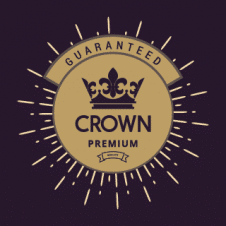 King Crown Premium Logo Vector images