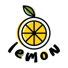 Lemon Flat Drawing Logo Vector images