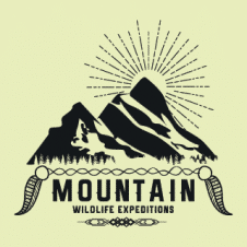Mountain Expeditions Logo Vector images