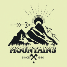 Mountain Explorer Logo Vector images