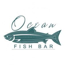 Ocean Fish Bar Logo Vector images