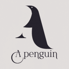 Penguin Logo Vector Design images