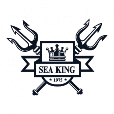 Sea King Logo Vector images