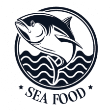 Seafood Logo Vector Design images
