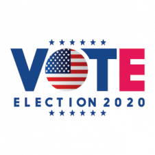 US Election Logo Vector 2020 images