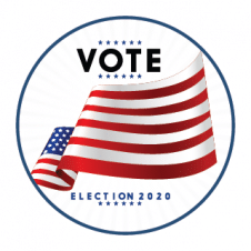 United States Election 2020 Logo Vector images