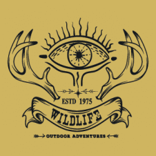 Wildlife Outdoor Logo Vector images